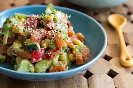 Speedy Summer Hemp Power Salad   KeepRecipes: Your ...