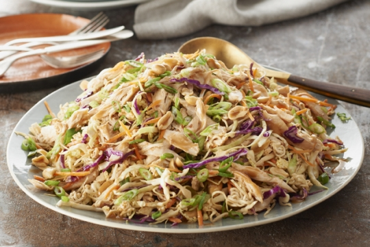 Asian Chicken Cabbage And Noodles Salad Keeprecipes Your Universal Recipe Box