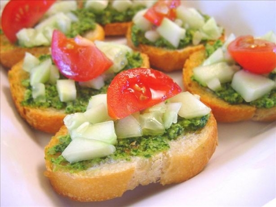 Cilantro canapes recipe keeprecipes your universal for Gourmet canape ideas
