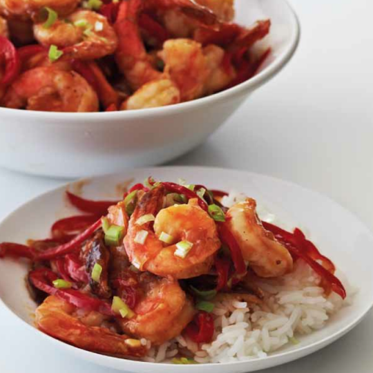 Hot and Sour Shrimp Saute Ninja® Kitchen Recipes ...