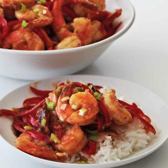 Hot And Sour Shrimp Saute Ninja Kitchen Recipes KeepRecipes Your - Www ninja kitchen com