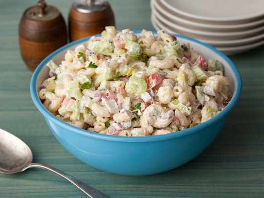 American macaroni salad food network kitchens keeprecipes your see original recipe at foodnetwork forumfinder Gallery
