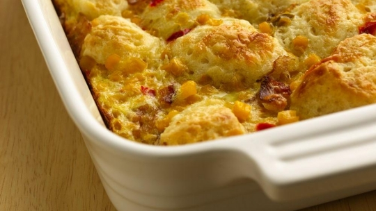 recipe: bacon egg and cheese biscuit bake tasty [4]