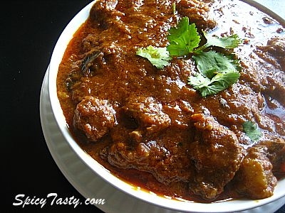 Spicy indian mutton curry keeprecipes your universal recipe box spicy indian mutton curry see original recipe at spicytasty forumfinder Image collections