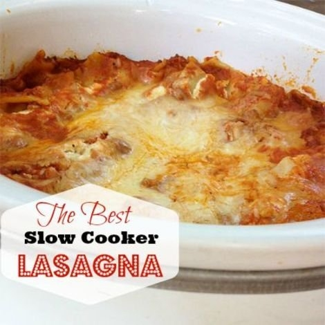 Mangia! Make the Best Slow-Cooker Lasagna ... Ever | KeepRecipes: Your ...