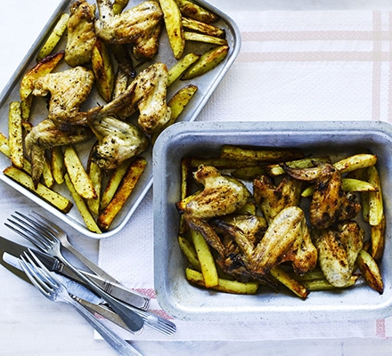 Spicy Oven Baked Chicken Chips Keeprecipes Your Universal