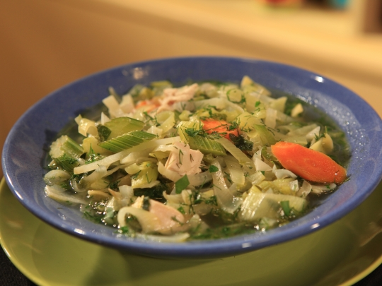 Suped up traditional chicken noodle soup rachael ray keeprecipes chicken noodle soup rachael ray see original recipe at foodnetwork forumfinder Image collections