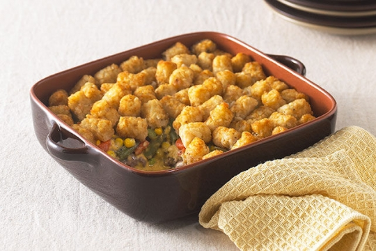 Tater Tot Topped Casserole Recipe Keeprecipes Your