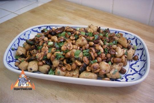 Thai-Style Szechuan Chicken | KeepRecipes: Your Universal