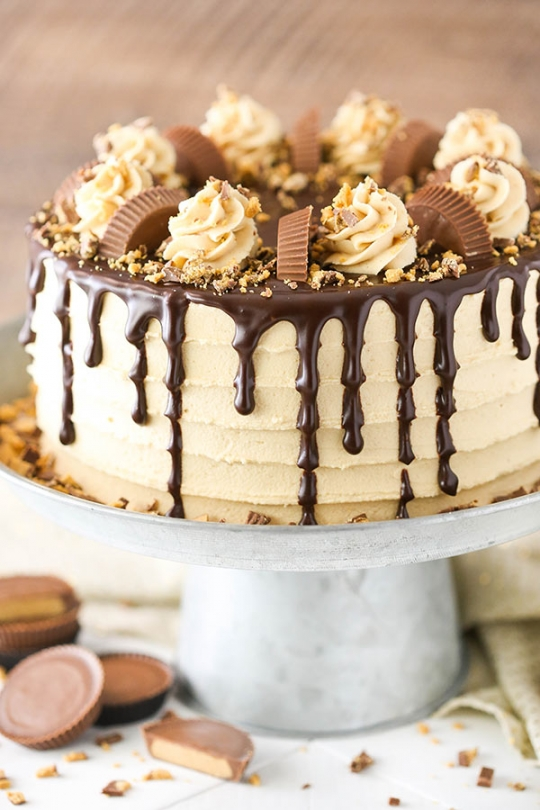 Peanut Butter Chocolate Layer Cake Keeprecipes Your