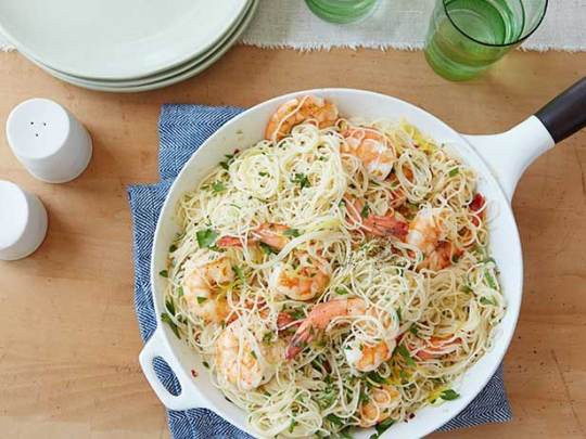 Gina S Shrimp Scampi With Angel Hair Pasta Keeprecipes Your