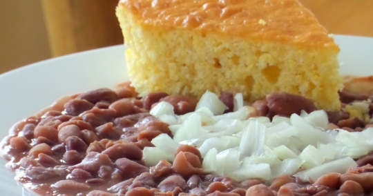Southern Quot Soup Beans Quot And Cornbread Keeprecipes Your