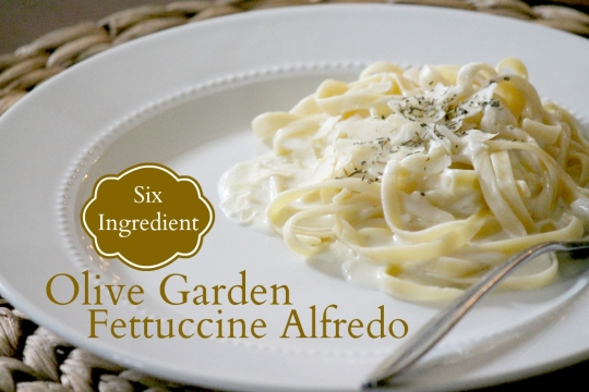 Olive Garden Fettuccine Alfredo Keeprecipes Your Universal Recipe Box