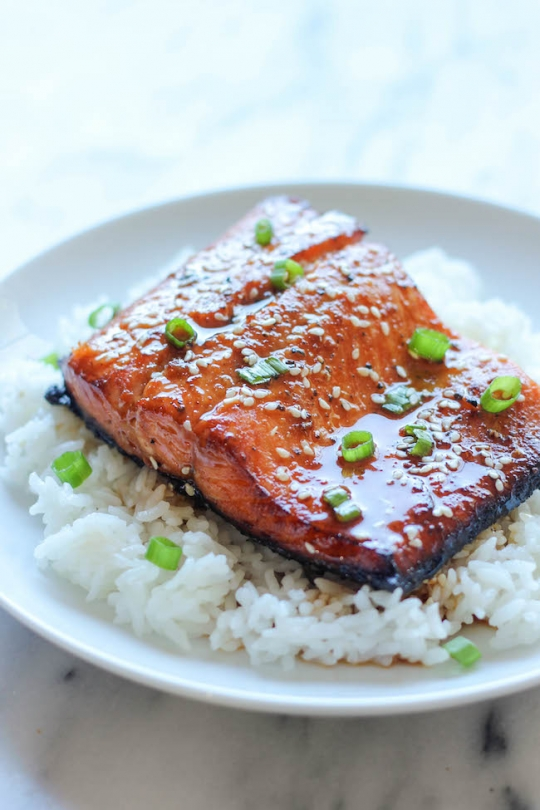 Damn Delicious Asian Sesame Ginger Salmon Keeprecipes Your Universal Recipe Box