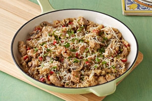 Quinoa Chicken Risotto