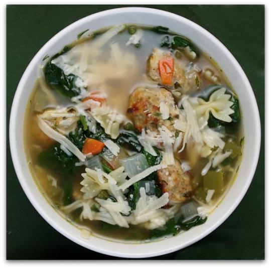 Recipe Italian Wedding Soup: Ina Garten's Italian Wedding Soup