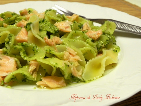 Ricetta pasta al pesto di basilico