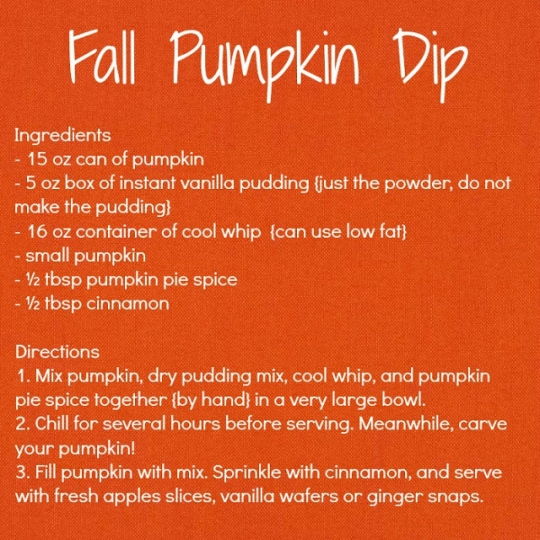 First Day Of Fall Pumpkin Dip Keeprecipes Your