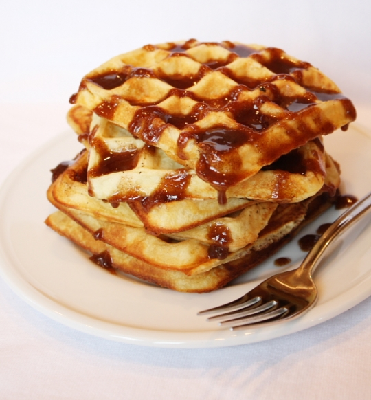 Cinnamon Roll Waffles | KeepRecipes: Your Universal Recipe Box