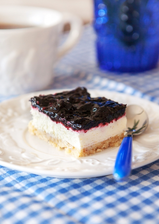 Lemon Blueberry Cheesecake Bars Recipe Food Network