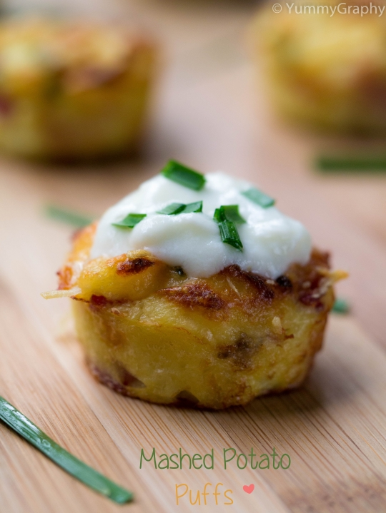 Mashed Potato Puffs | KeepRecipes: Your Universal Recipe Box