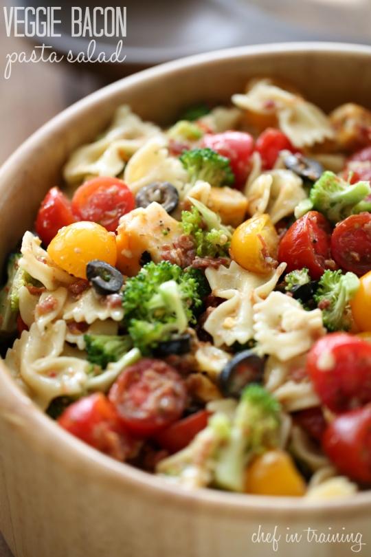 Veggie Bacon Pasta Salad | KeepRecipes: Your Universal Recipe Box