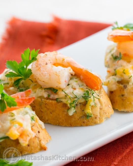 Shrimp tea sandwiches canap s keeprecipes your for Shrimp canape ideas