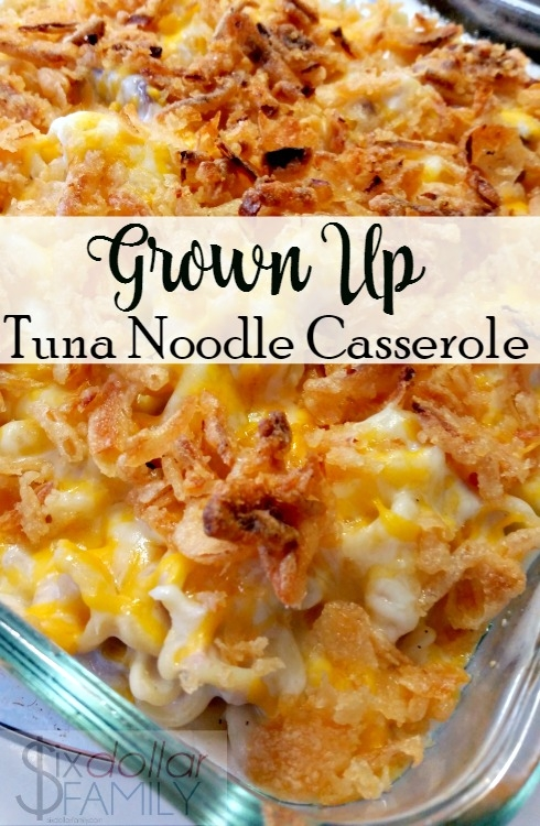 Grown Up Tuna Noodle Casserole Recipe | KeepRecipes: Your ...