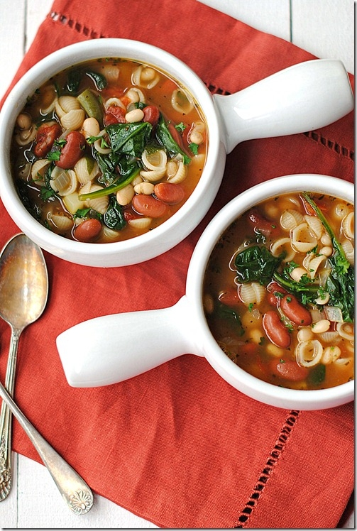 Olive Garden Inspired Minestrone Soup Keeprecipes Your Universal Recipe Box