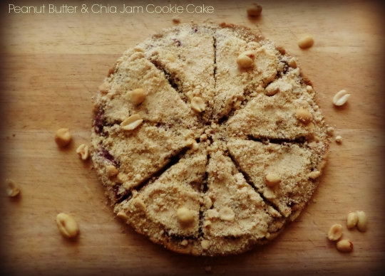 Peanut Butter and Chia Jam Cookie Cake | KeepRecipes: Your ...