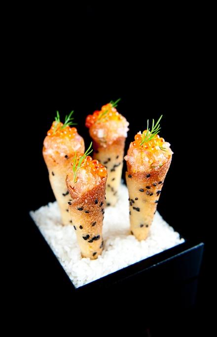 The French Laundry Salmon Tartare Cornets Keeprecipes
