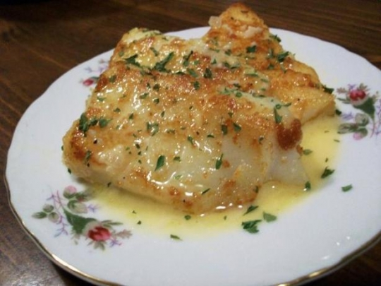 Pan Fried Fish With A Rich Lemon Butter Sauce Recipe
