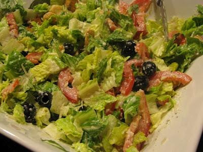 olive garden style salad - Olive Garden Salad