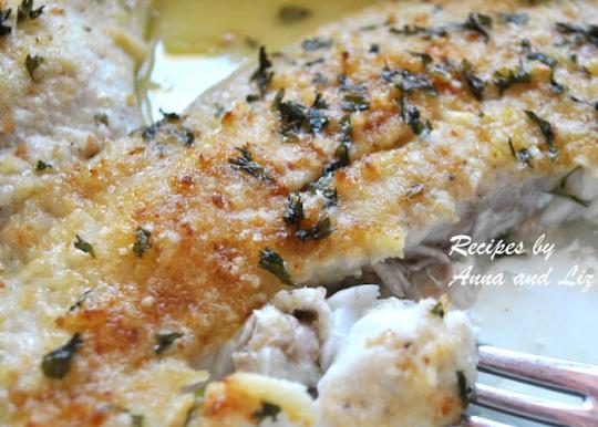 Baked Flounder Fillet Oreganata Keeprecipes Your