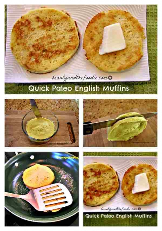 Quick paleo english muffins keeprecipes your universal recipe box quick paleo english muffins see original recipe at beautyandthefoodie forumfinder Image collections
