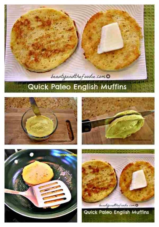 Quick Paleo English Muffins | KeepRecipes: Your Universal Recipe Box
