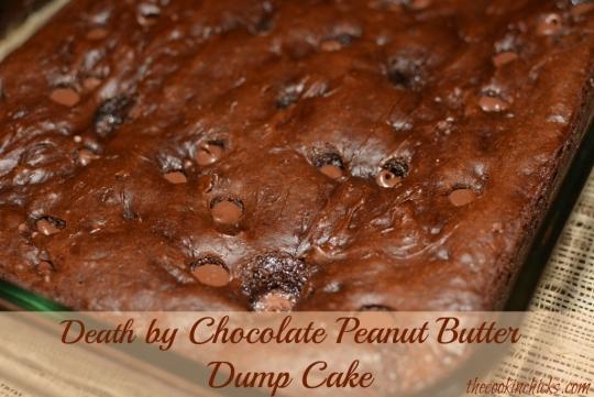 Death By Chocolate Peanut Butter Dump Cake Keeprecipes