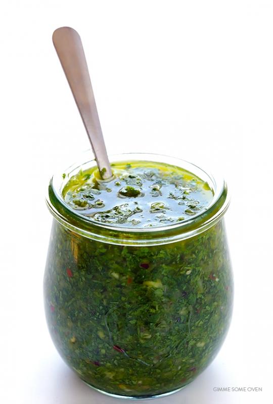 Chimichurri Sauce   KeepRecipes: Your Universal Recipe Box