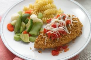 Chicken Parmigiana with Fresh Tomato Sauce recipe   KeepRecipes: Your ...