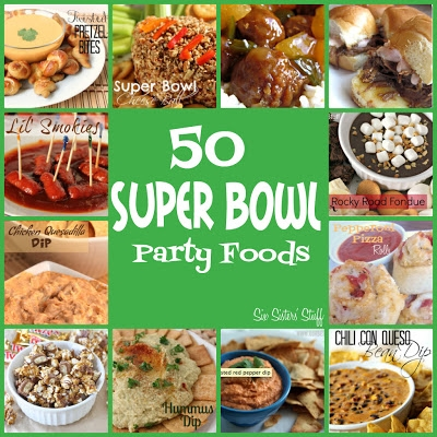50 Super Bowl Snacks Party Foods