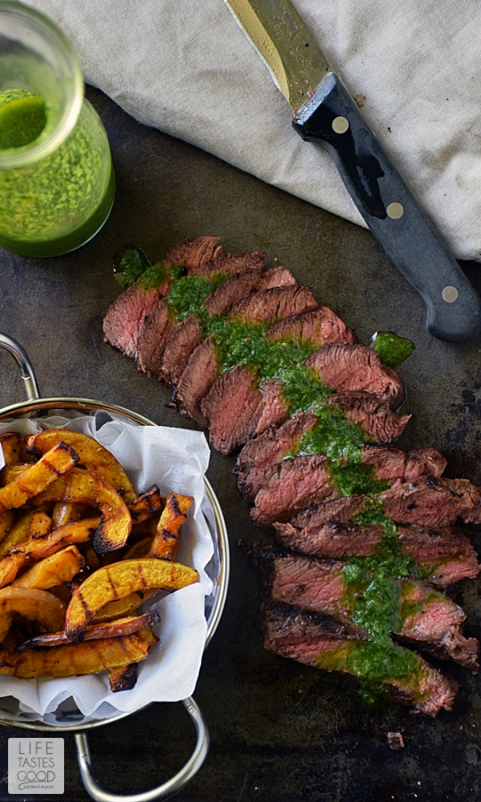 Pan-Seared Steak with Chimichurri | KeepRecipes: Your Universal Recipe ...