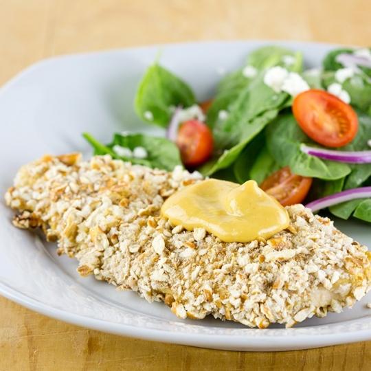Skinny Honey Mustard Pretzel Chicken | KeepRecipes: Your Universal ...