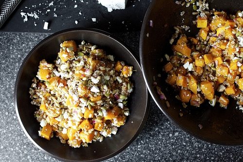 Butternut Squash Salad With Farro And Pepitas Keeprecipes