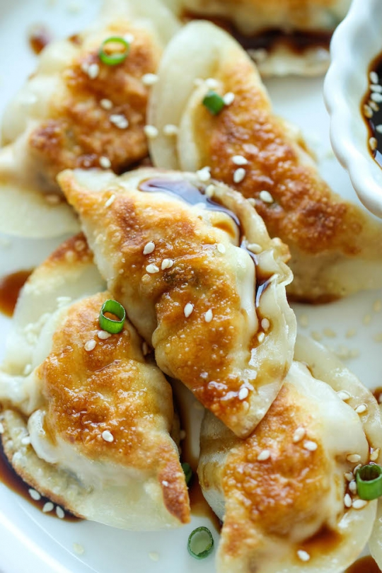 Chicken Potstickers Recipe Food Network