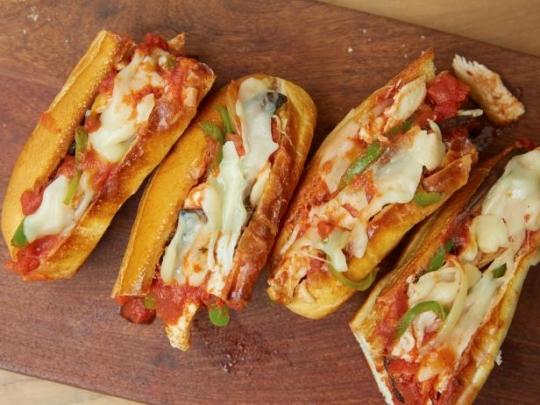 Chicken Cacciatore Subs Keeprecipes Your Universal Recipe Box