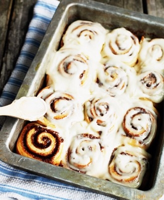 Cinnamon Buns W Kitchen Aid Mixer Keeprecipes Your Universal Recipe Box