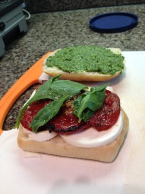 Roasted Tomato Caprese Salad (or sandwich) | KeepRecipes: Your ...