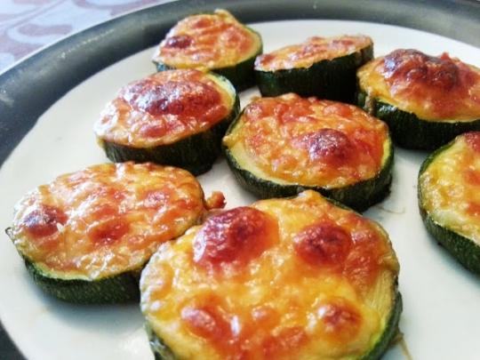 Zucchini Crust Pan Pizza Food Network