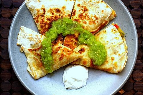 acorn squash quesadillas + tomatillo salsa | smitten kitchen ...