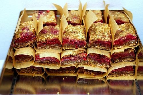 Smitten Kitchen Raspberry breakfast bars smitten kitchen keeprecipes your see original recipe at smittenkitchen sisterspd